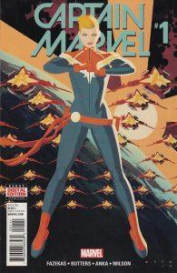 Captain Marvel #1 (2016)