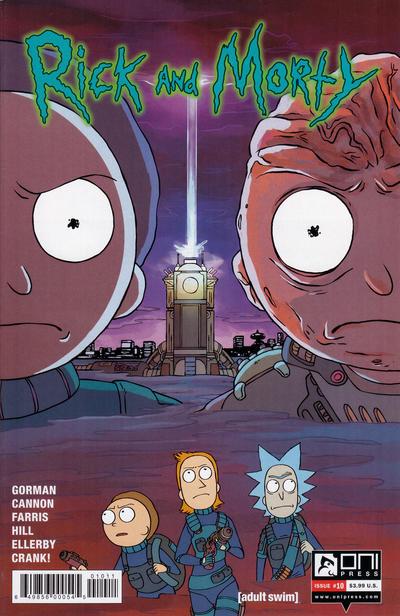 Rick and Morty #10 (2016)