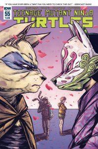 Teenage Mutant Ninja Turtles #55 (2016)