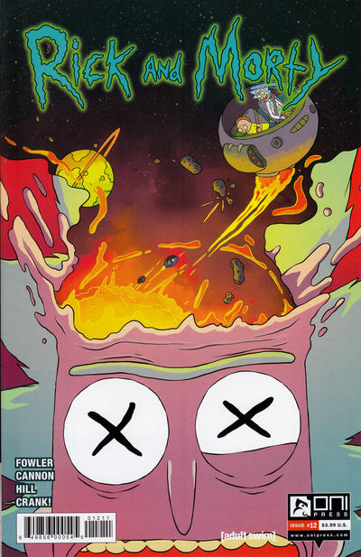 Rick and Morty #12 (2016)