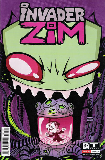 Invader Zim #9 (2016)