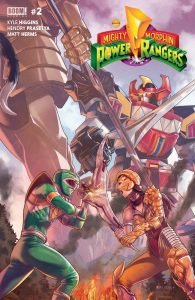 Mighty Morphin Power Rangers #2 (2016)