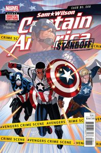 Sam Wilson: Captain America #8 (2016)