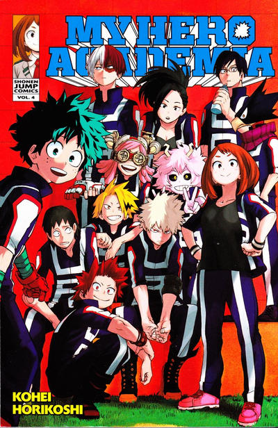 My Hero Academia #4 (2016)