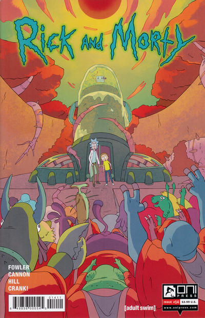 Rick and Morty #14 (2016)