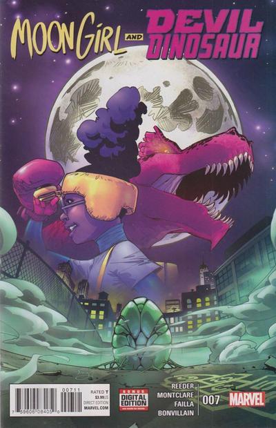 Moon Girl and Devil Dinosaur #7 (2016)