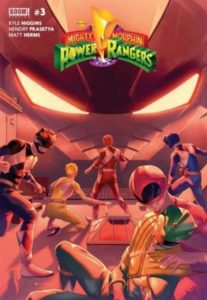 Mighty Morphin Power Rangers #3 (2016)