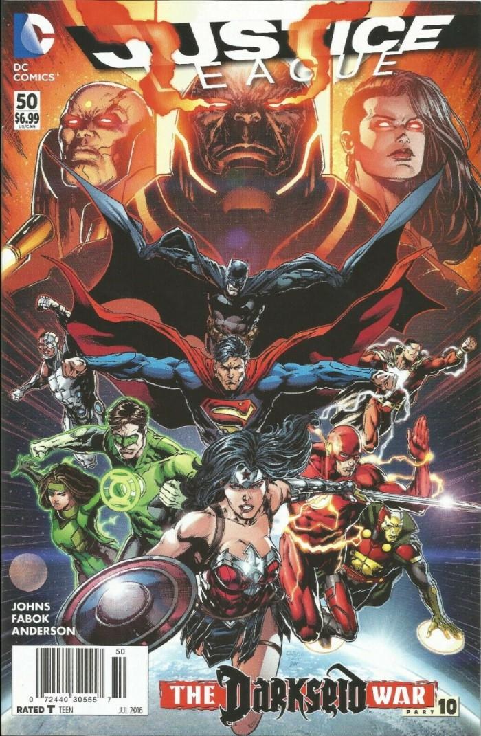 Justice League #50 (2016)