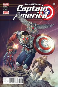 Sam Wilson: Captain America #9 (2016)