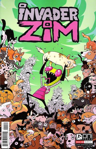 Invader Zim #11 (2016)