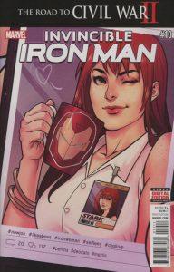 Invincible Iron Man #10 (2016)