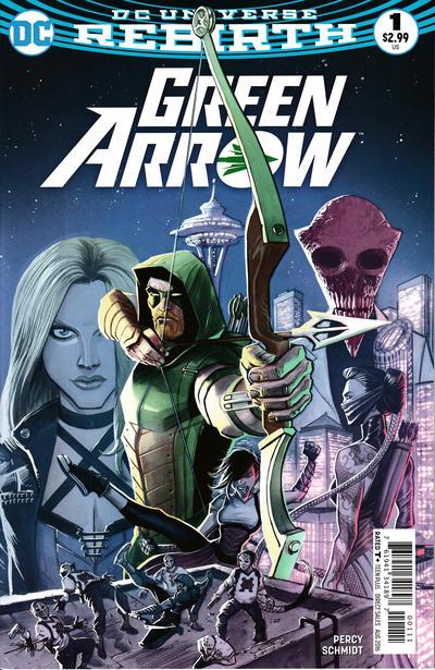 Green Arrow #1 (2016)