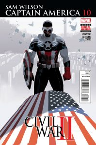 Sam Wilson: Captain America #10 (2016)