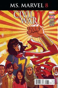 Ms. Marvel #8 (2016)
