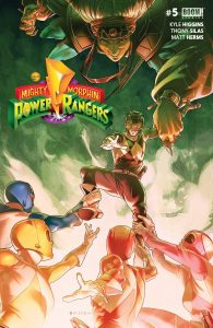 Mighty Morphin Power Rangers #5 (2016)