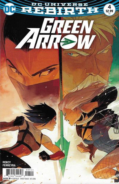 Green Arrow #4 (2016)