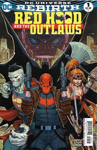 Red Hood and the Outlaws #1 (2016)