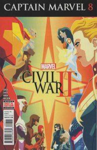 Captain Marvel #8 (2016)