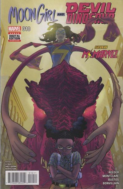 Moon Girl and Devil Dinosaur #10 (2016)