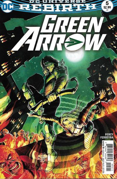 Green Arrow #5 (2016)