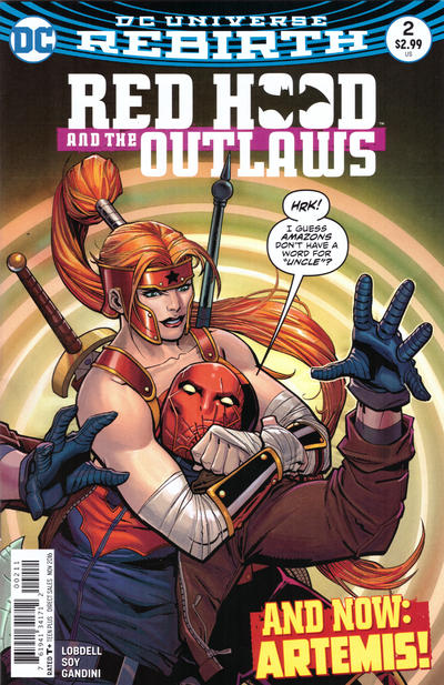 Red Hood and the Outlaws #2 (2016)