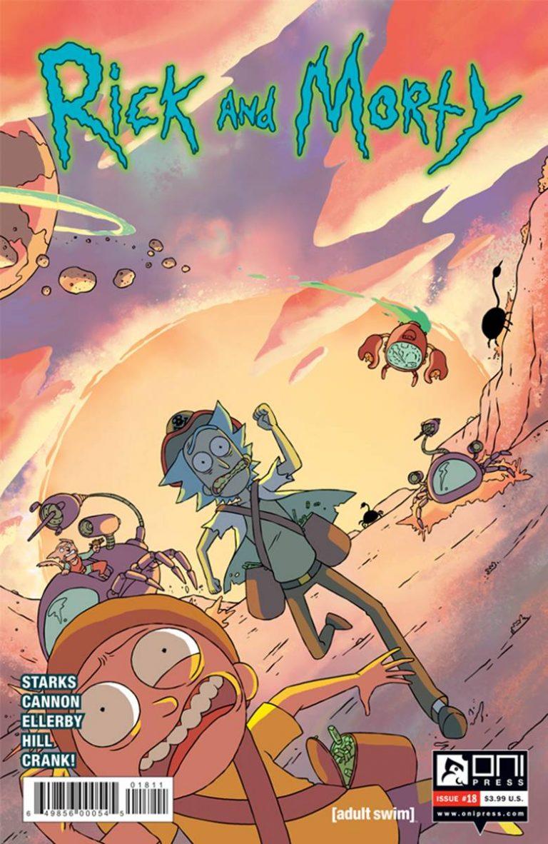 Rick and Morty #18 (2016)