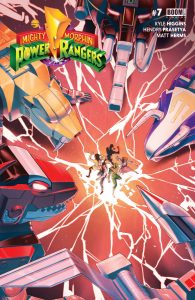 Mighty Morphin Power Rangers #7 (2016)