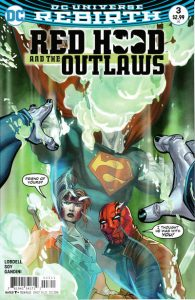 Red Hood and the Outlaws #3 (2016)