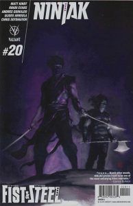 Ninjak #20 (2016)