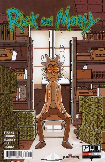 Rick and Morty #19 (2016)