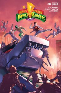 Mighty Morphin Power Rangers #8 (2016)