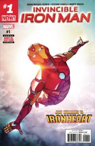 Invincible Iron Man #1 (2016)