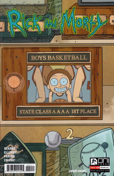 Rick and Morty #20 (2016)