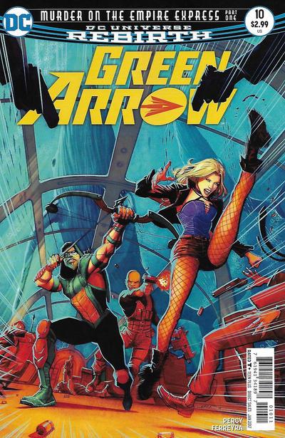 Green Arrow #10 (2016)