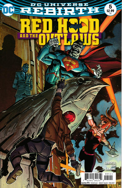 Red Hood and the Outlaws #5 (2016)