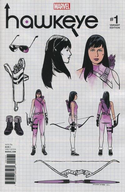 Hawkeye #1 (2016)
