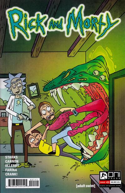 Rick and Morty #21 (2016)