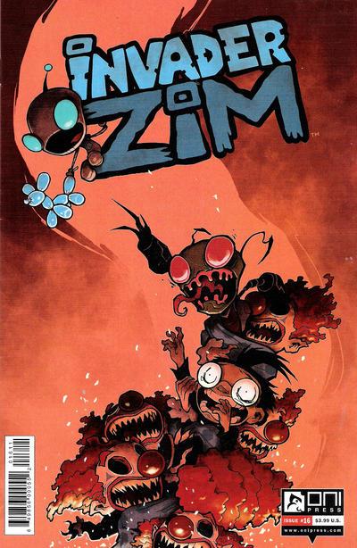 Invader Zim #16 (2016)