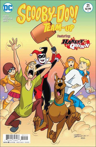 Scooby-Doo Team-Up #21 (2016)