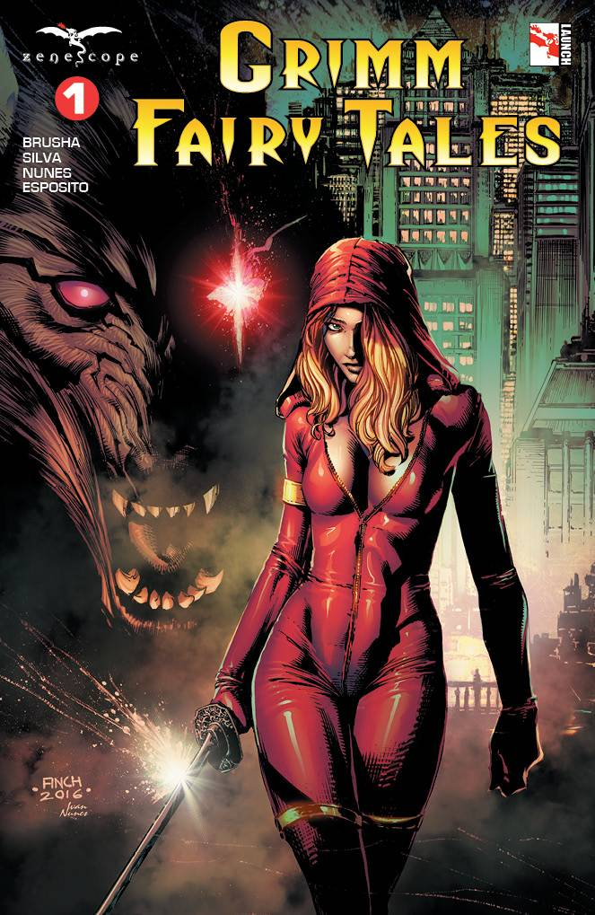 Grimm Fairy Tales #1 (2016)