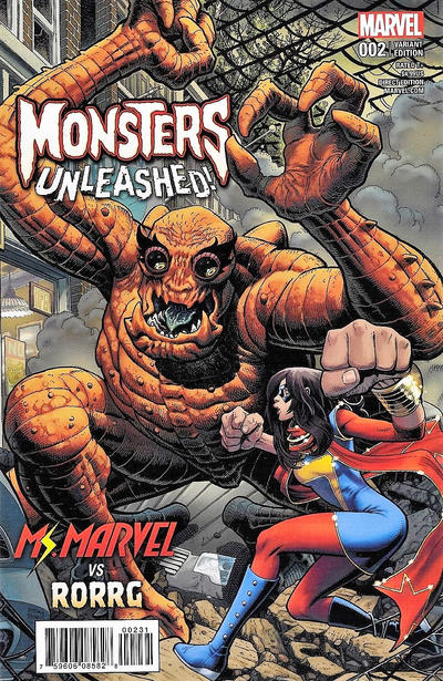 Monsters Unleashed #2 (2017)