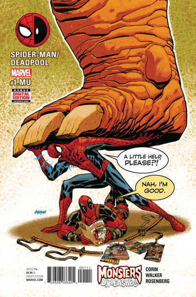 Spider-Man/Deadpool #1.MU (2017)
