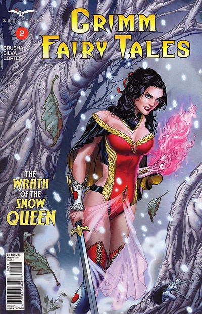 Grimm Fairy Tales #2 (2017)