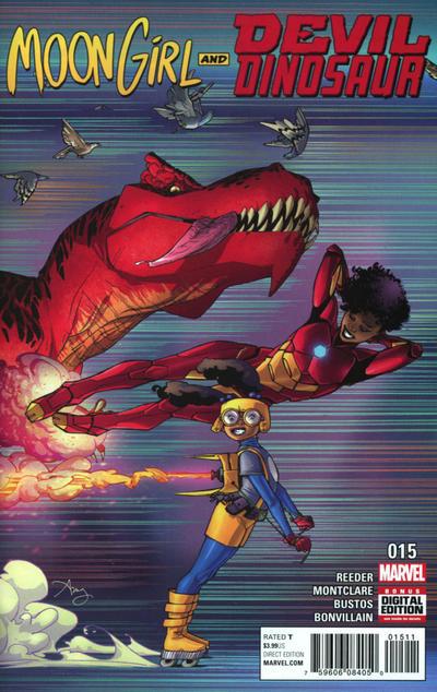 Moon Girl and Devil Dinosaur #15 (2017)