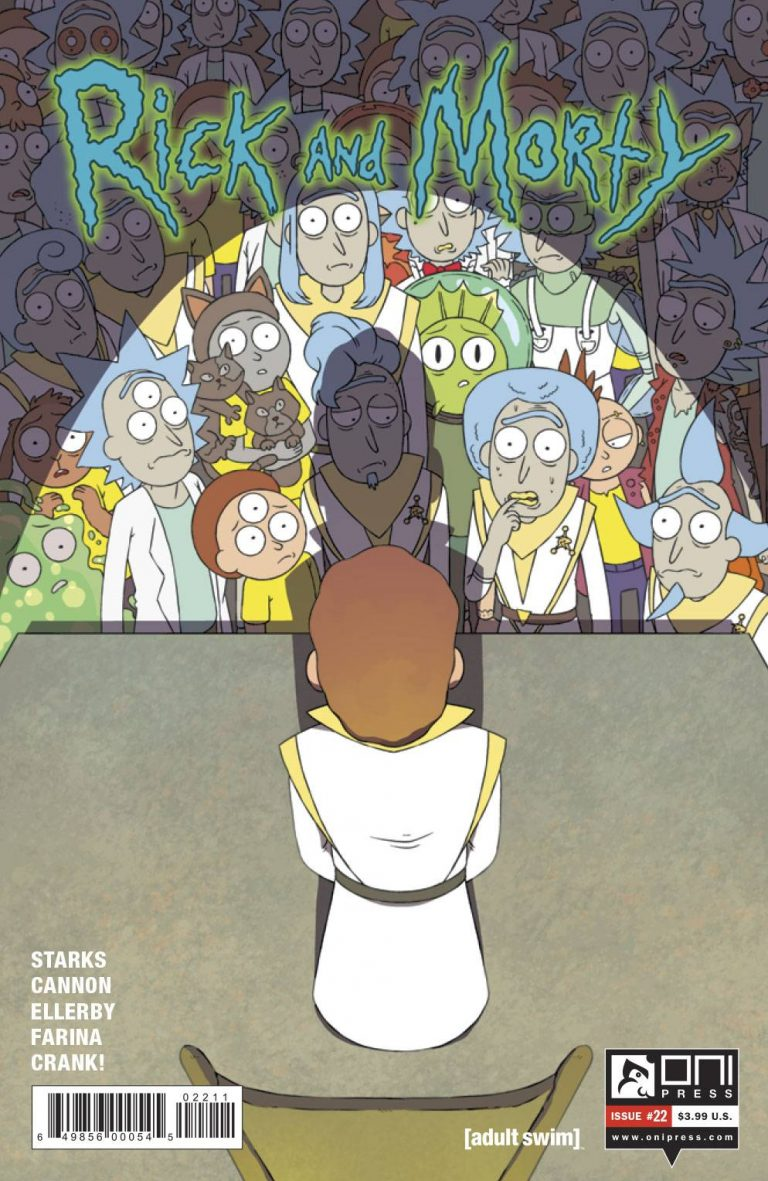 Rick and Morty #22 (2017)