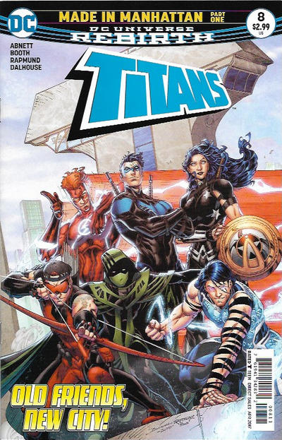 Titans #8 (2017)
