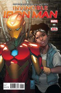 Invincible Iron Man #4 (2017)