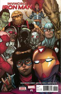 Invincible Iron Man #5 (2017)