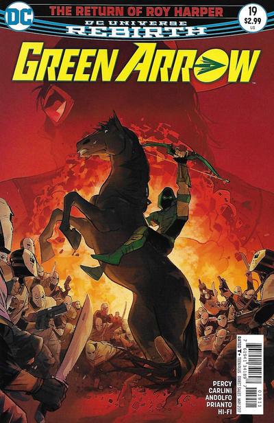 Green Arrow #19 (2017)