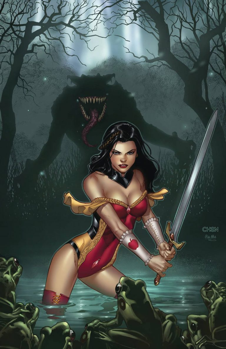 Grimm Fairy Tales #4 (2017)